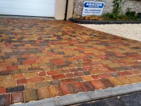 New driveways and paving at property in Ashill