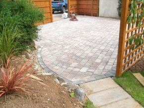 Tumbled Edge, 3 size block paving to form a driveway in Taunton